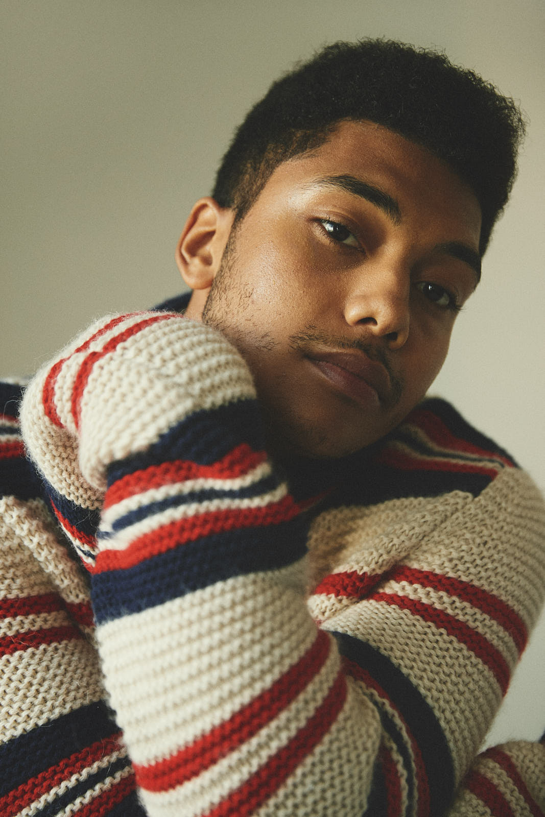 Chance Perdomo wears Gucci