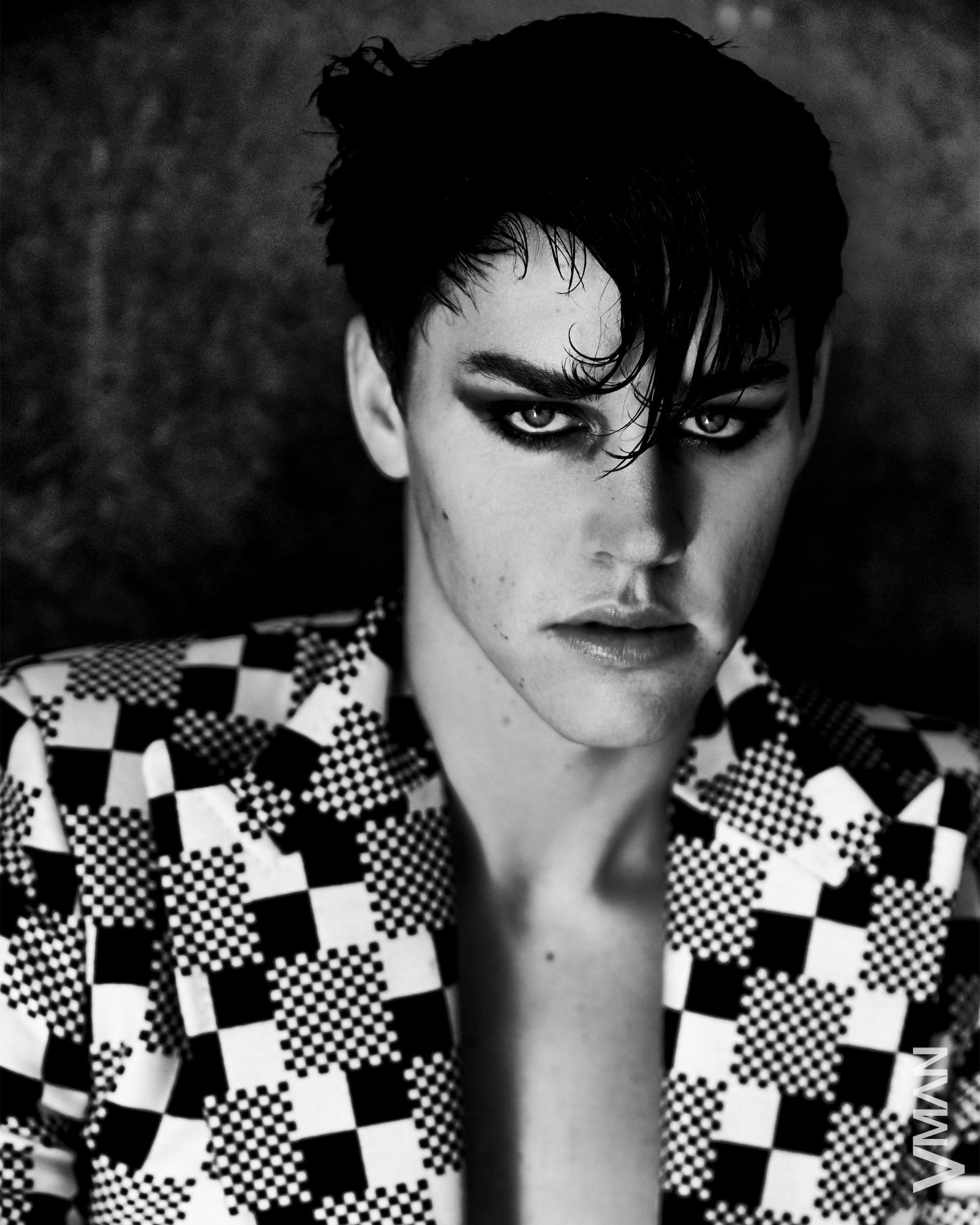 Noah wears jacket Louis Vuitton